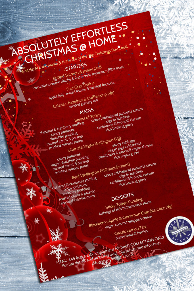 Jersey Kitchen at Home Absolutely Effortless Christmas menu