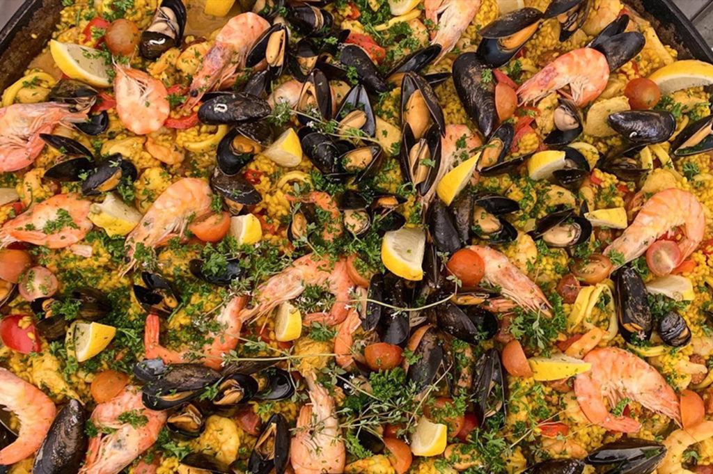 Jersey Kitchen at Home paella pans