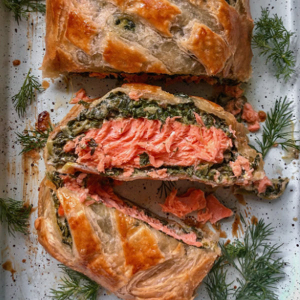 Salmon en croute Jersey Kitchen