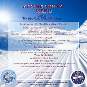 Alpine menu JK