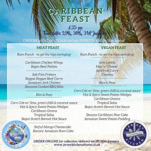 Jersey Kitchen at Home Caribbean Feast menu