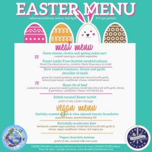 Easter menu Jersey Kitchen